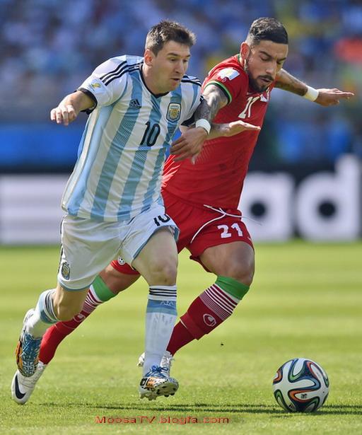 بازی ایران آرژانتین جام جهانی 2014 برزیل